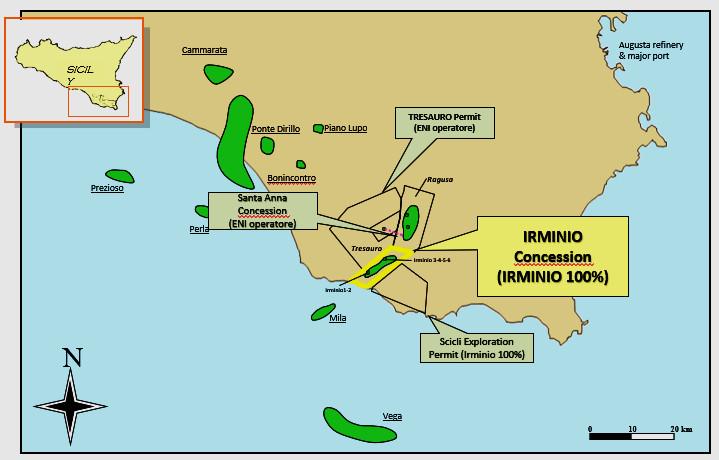 Irminio concession map