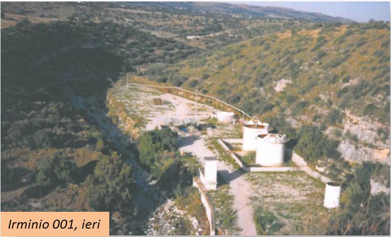 Area Irminio 1 in produzione