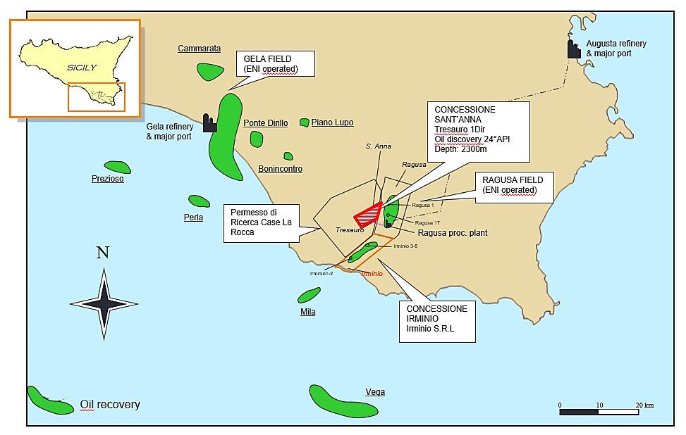 Mappa concessione S. Anna