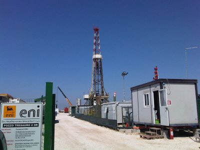 Tesauro 2 drilling phase