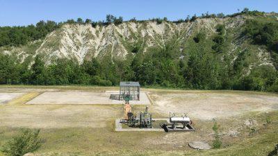 Torrente Baganza wells